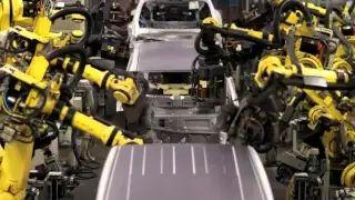 2010 Nissan LEAF production